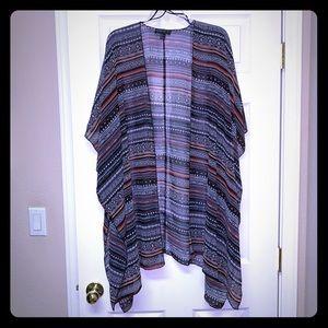 NWOT Forever 21 sheer kimono